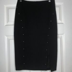 White House Black Market black pencil skirt SZ 6